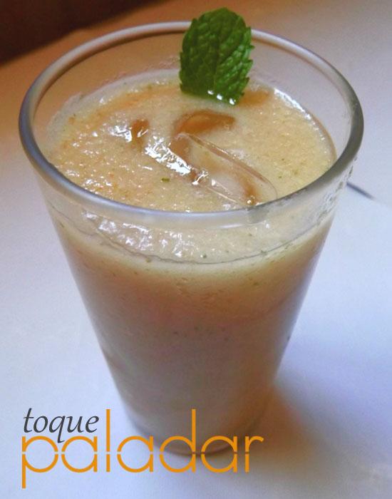 Suco de Pera com Hortelã