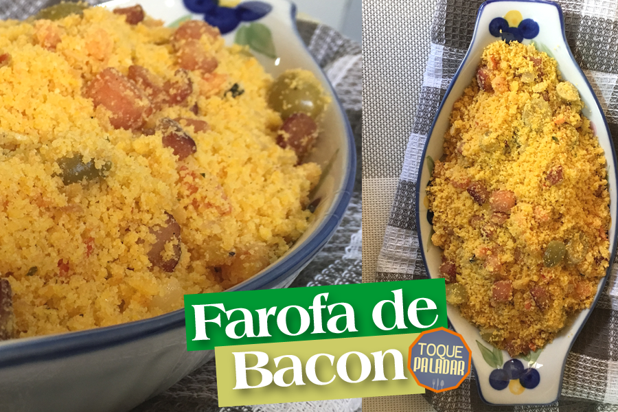 Farofa de Bacon